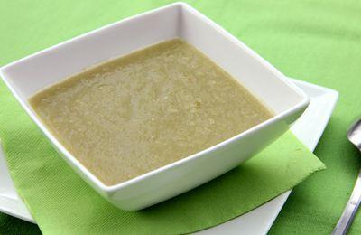 Soupe de haricots plats