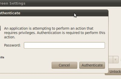 Enable automatic/user login screen