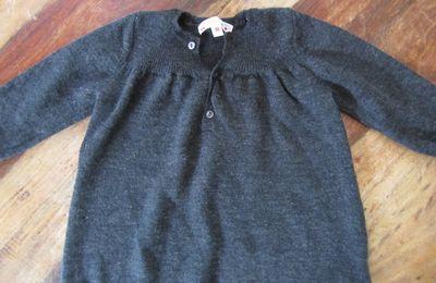 Vide dressing bébé : Robe-pull Bonpoint 18 mois