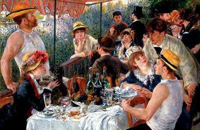 """""""Le déjeuner des canotiers"""" dans le film """"Le fabuleux destin d'Amélie Poulain"""""""