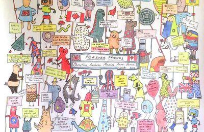 Atelier coloriage pour une soirée de 50 ans
