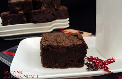 Brownie aux noix - ultra fondant
