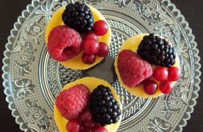 Mini Tartelettes Fruits rouges