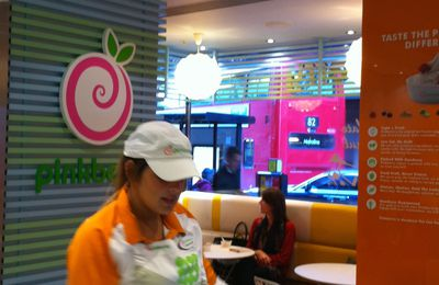 Pinkberry, Londres