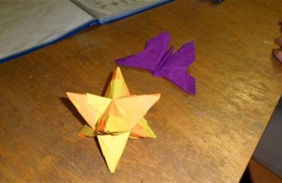 A l'atelier Origami