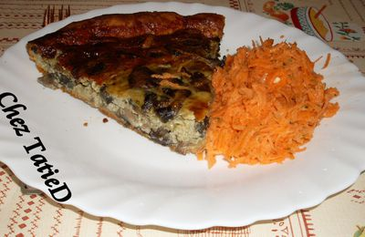 quiche brocolis/saumon