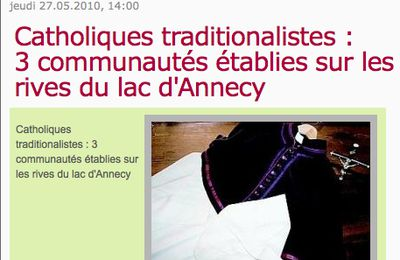 Annecy, terre traditionaliste ?