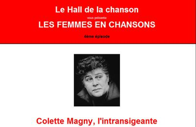 Colette Magny, l'intransigeante