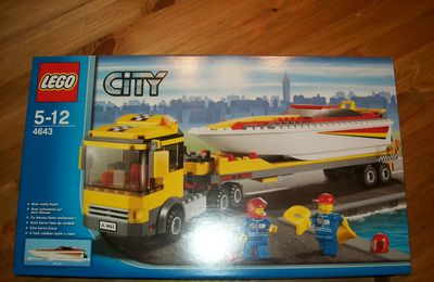 Revue du set LEGO 4643 (City)
