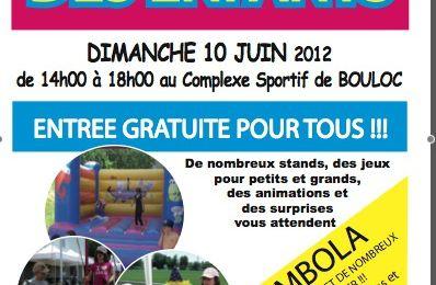 Kermesse des enfants le 10 juin 2012
