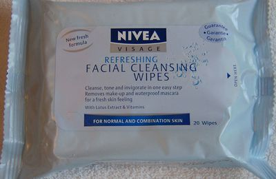 Nivea - Refreshing Facial Cleansing Wipes