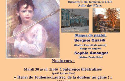 Exposition à VILLEPINTE (Aude)