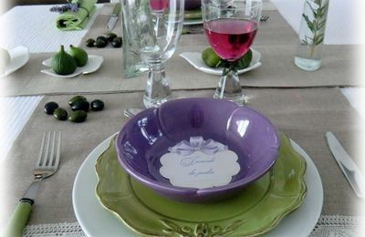 Suite de la table Provence...