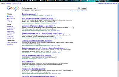 Google est bizarre