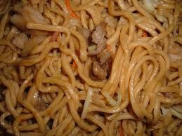 Chow mein ...