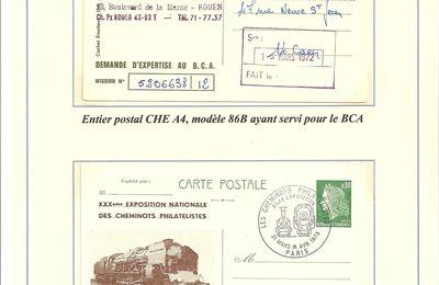 Les entiers postaux