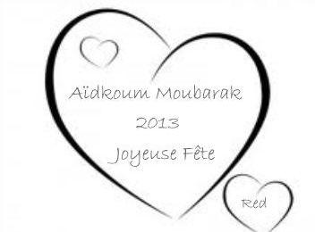 Fête de l'Aïd El Kébir 2013