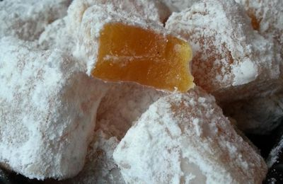 Loukoums à l'orange