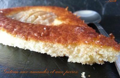 Gâteau moelleux aux amandes et aux poires