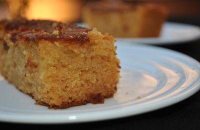 Cake moelleux à l'eau de fleur d'oranger