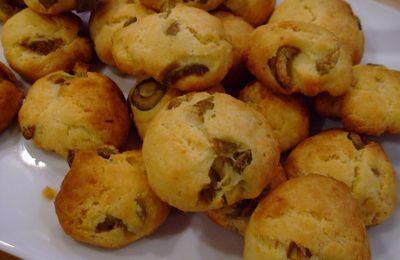 Biscuits d'apéritif à la farine de maïs