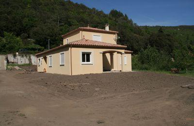 Mai 2012 - Le terrassement