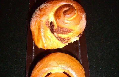 Brioche tourbillon au nutella...