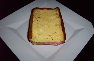 Croque monsieur Dukan...