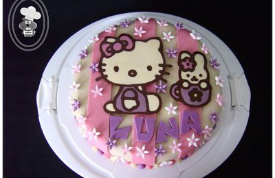 Gâteau Hello Kitty 3
