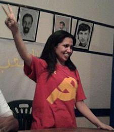 INTERVIEW DE ILHAM ELHASNOUNI DANS 'RED FLAG' - JOURNAL DU MLPD (PARTI MARXISTE-LENINISTE D'ALLEMAGNE)