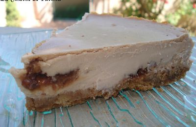 Cheesecake aux daims