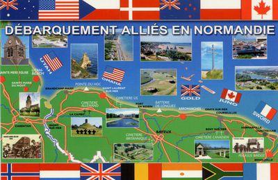 DEBARQUEMENT EN NORMANDIE / HISTOIRE / 6 JUIN 1944