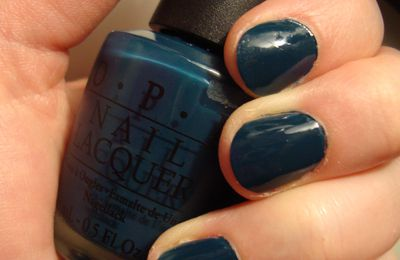 Ski Teal We Drop - OPI... & Cuckoo for this Color - OPI...