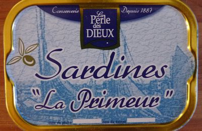 Samossas aux sardines et au fromage.
