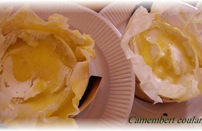 Camembert coulant