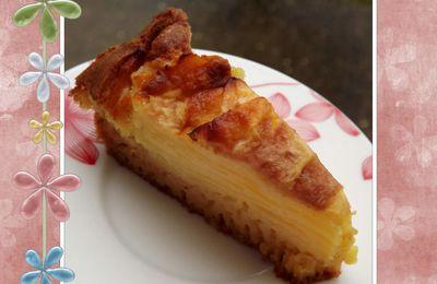 Gâteau pommes poires au Rhum