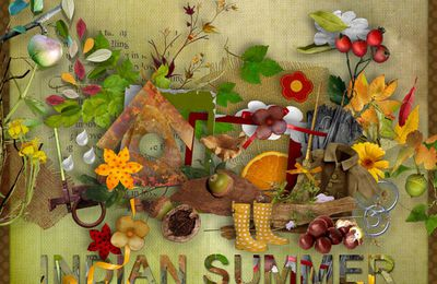 """Indian summer"" Collab de Lapuce, Lilibule, ..."