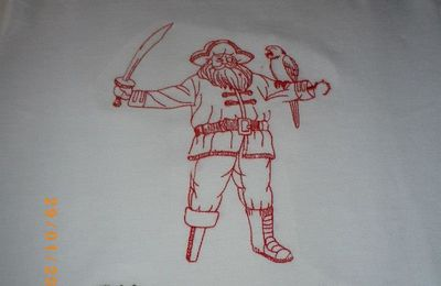 Un autre T-shirt Pirates !