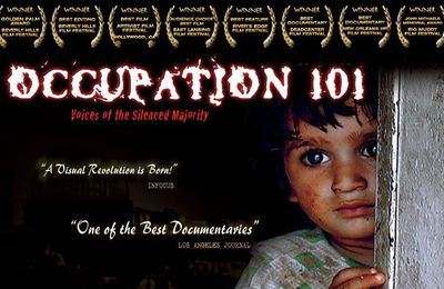 "FILM DOCUMENTAIRE ""OCCUPATION 101"" VIDEO"