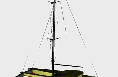 Ti Pouch 39 Catamaran en CP Epoxy pour la construction amateur