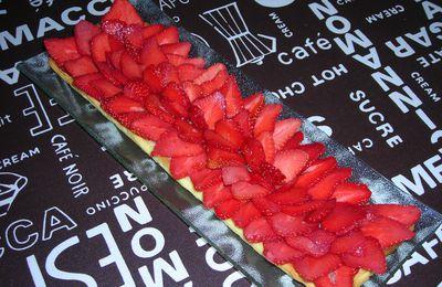Tartes aux fraises vanillée
