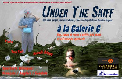 du 2 au 5 octobre à 20h30 UNDER THE SKIFF une farce lyrique pour deux clowns