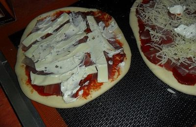 Pâte à pizza au Cook'in