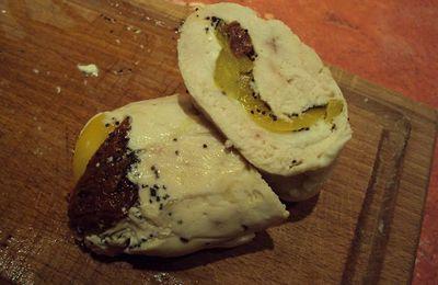 Blancs de poulet farcis à la mozzarella (Tour n° 136)
