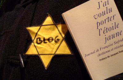 Amie des Juifs... et fière de l'être