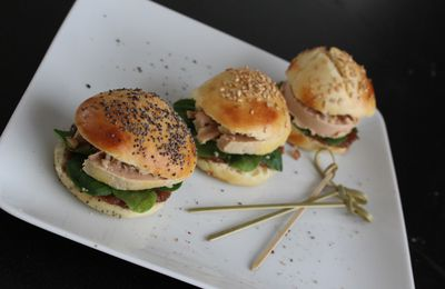Mini-Burger de Foie Gras