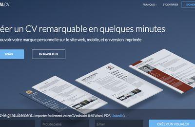 Avec Visual CV, créez un CV pro en quelques minutes