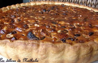 Tarte aux fruits secs
