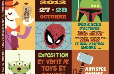 PARIS COMICS EXPO - 1ère édition 27/28 octobre 2012