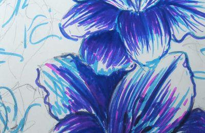 Croquis fleurs n°3